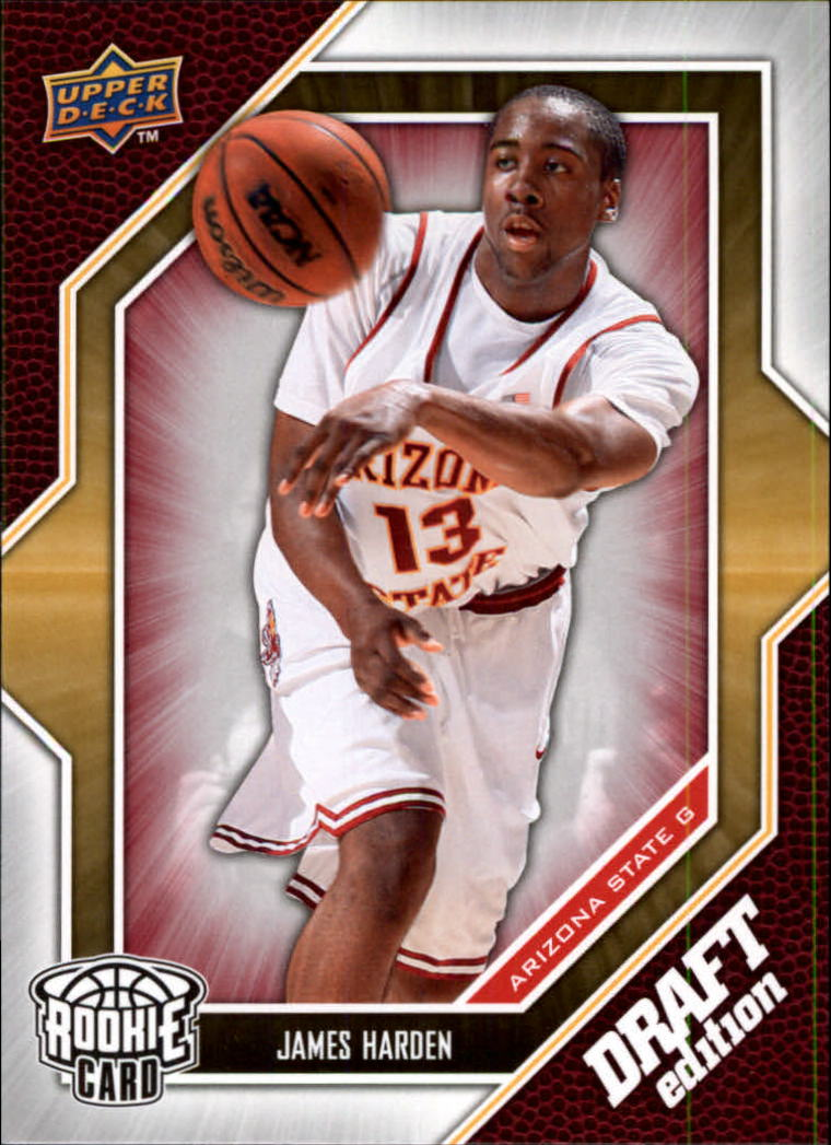 2009-10 Upper Deck Draft Edition #40 James Harden