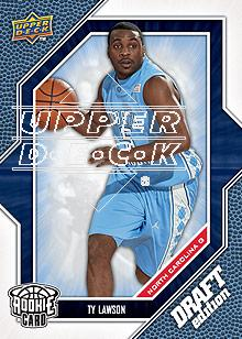 2009-10 Upper Deck Draft Edition #43 Ty Lawson SP