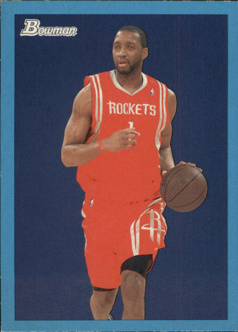 2009-10 Bowman 48 Blue #27 Tracy McGrady