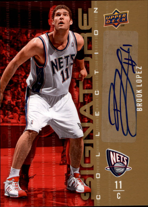 2009-10 Upper Deck Signature Collection #55 Brook Lopez