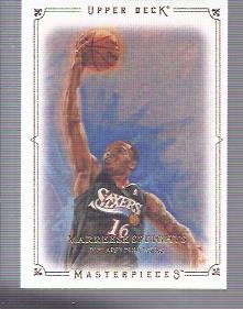 2009-10 Upper Deck Masterpieces #MAMS Marreese Speights