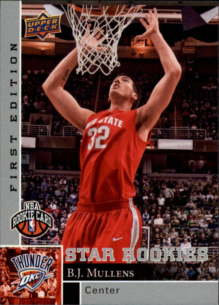 2009-10 Upper Deck First Edition #176 B.J. Mullens RC