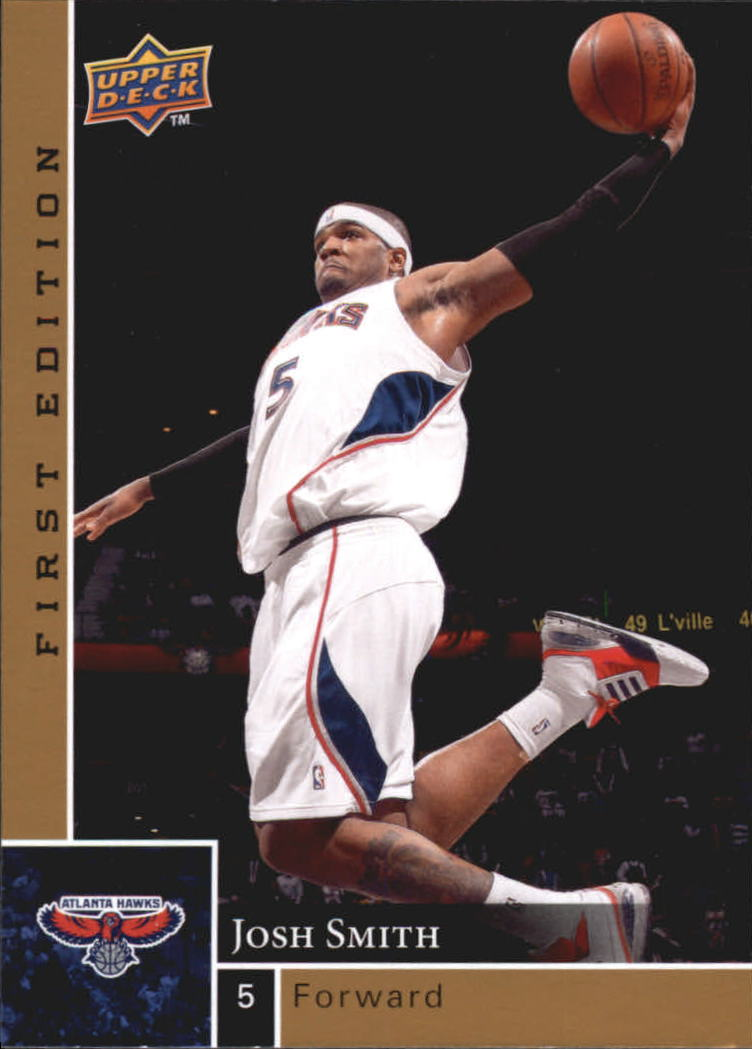 2009-10 Upper Deck First Edition Gold #1 Josh Smith