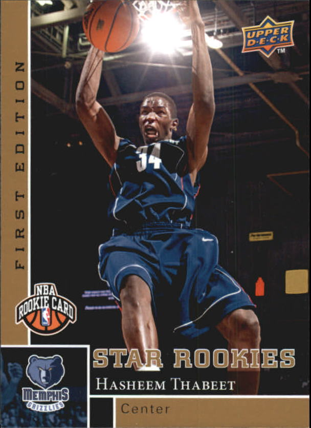 2009-10 Upper Deck First Edition Gold #187 Hasheem Thabeet