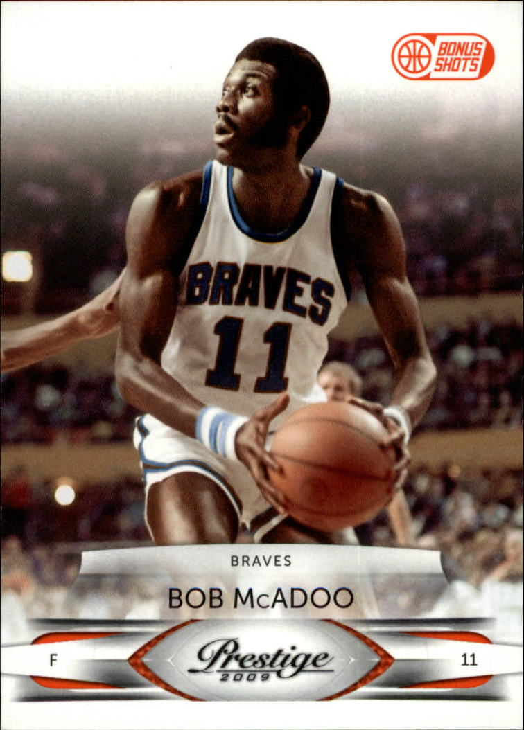 2009-10 Prestige Bonus Shots Orange #137 Bob McAdoo