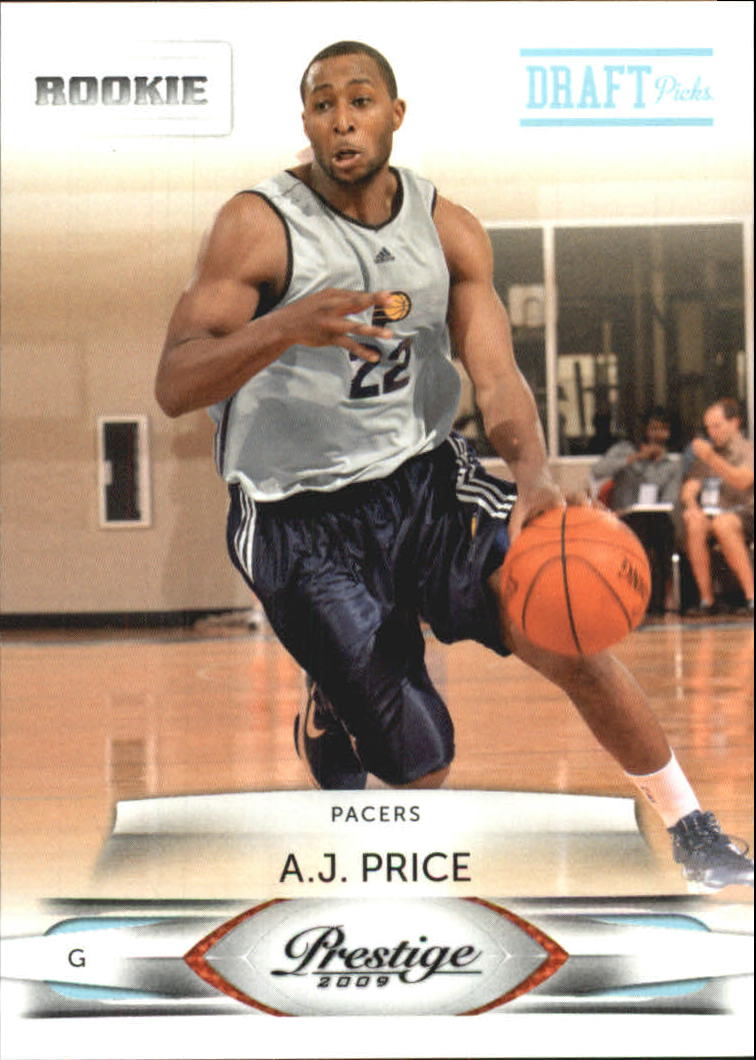 2009-10 Prestige Draft Picks Light Blue #196 A.J. Price