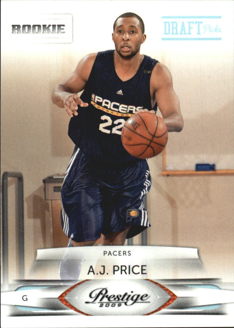 2009-10 Prestige Draft Picks Light Blue #246 A.J. Price