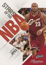 2009-10 Prestige Stars of the NBA #1 LeBron James