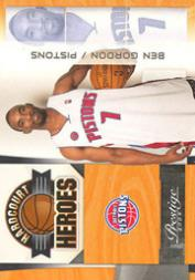 2009-10 Prestige Hardcourt Heroes #3 Ben Gordon