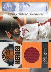2009-10 Prestige Hardcourt Heroes Materials #11 Jermaine O'Neal
