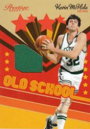 2009-10 Prestige Old School Materials #4 Kevin McHale