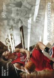 2009-10 Prestige Playmakers #13 Brandon Roy