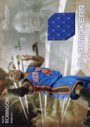 2009-10 Prestige Playmakers Materials #10 Nate Robinson