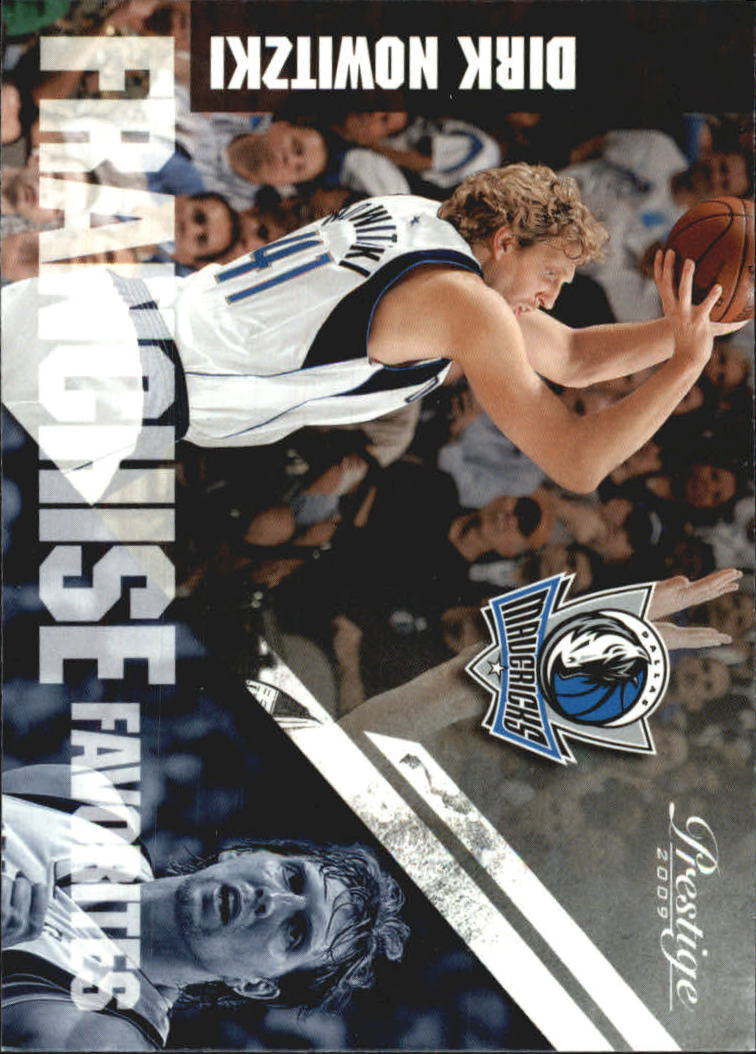 2009-10 Prestige Franchise Favorites #6 Dirk Nowitzki