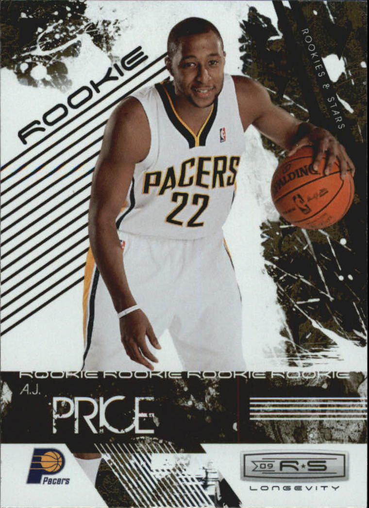 2009-10 Rookies and Stars Longevity #125 A.J. Price RC
