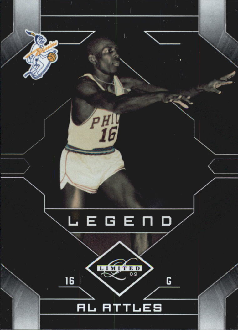 2009-10 Limited #109 Al Attles