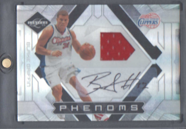 2009-10 Limited #151 Blake Griffin JSY AU RC