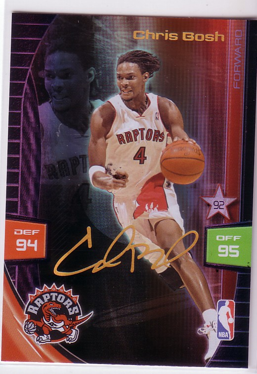 2009-10 Adrenalyn XL Extra Signature #3 Chris Bosh