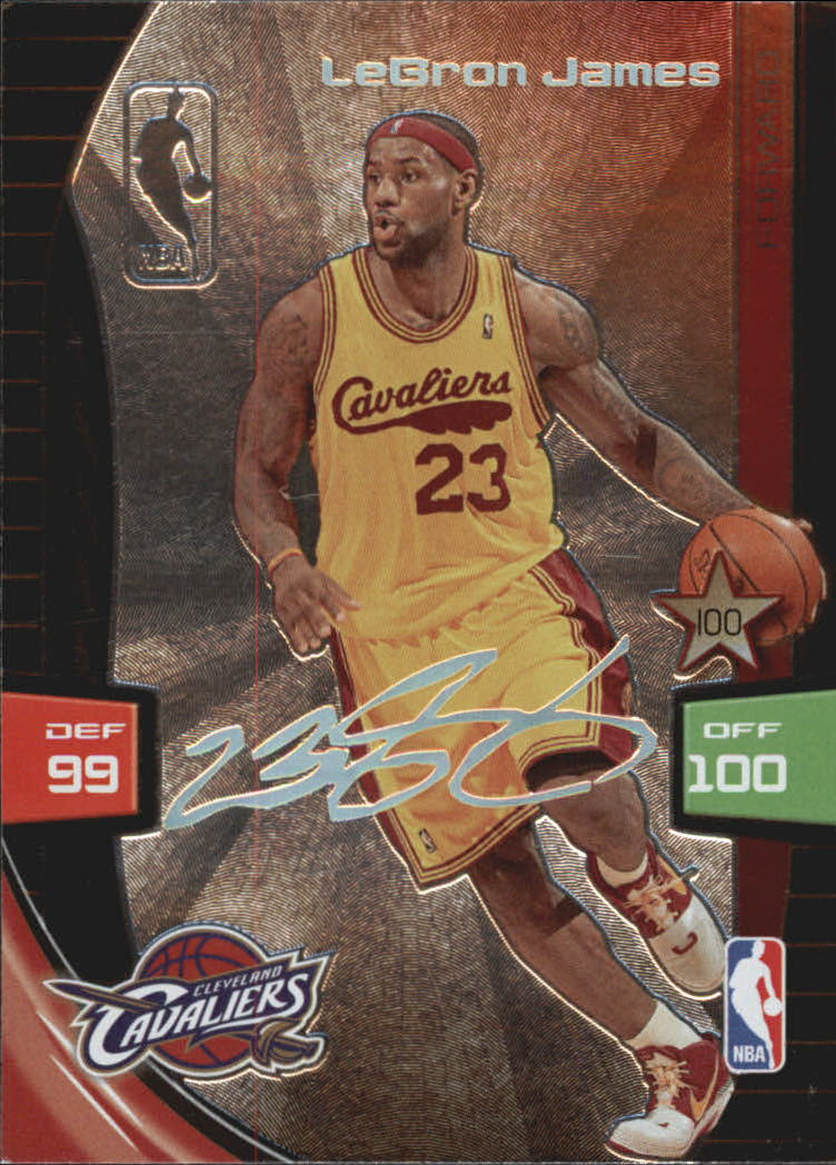 2009-10 Adrenalyn XL Extra Signature #15 LeBron James