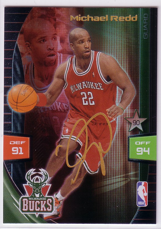 2009-10 Adrenalyn XL Extra Signature #23 Michael Redd
