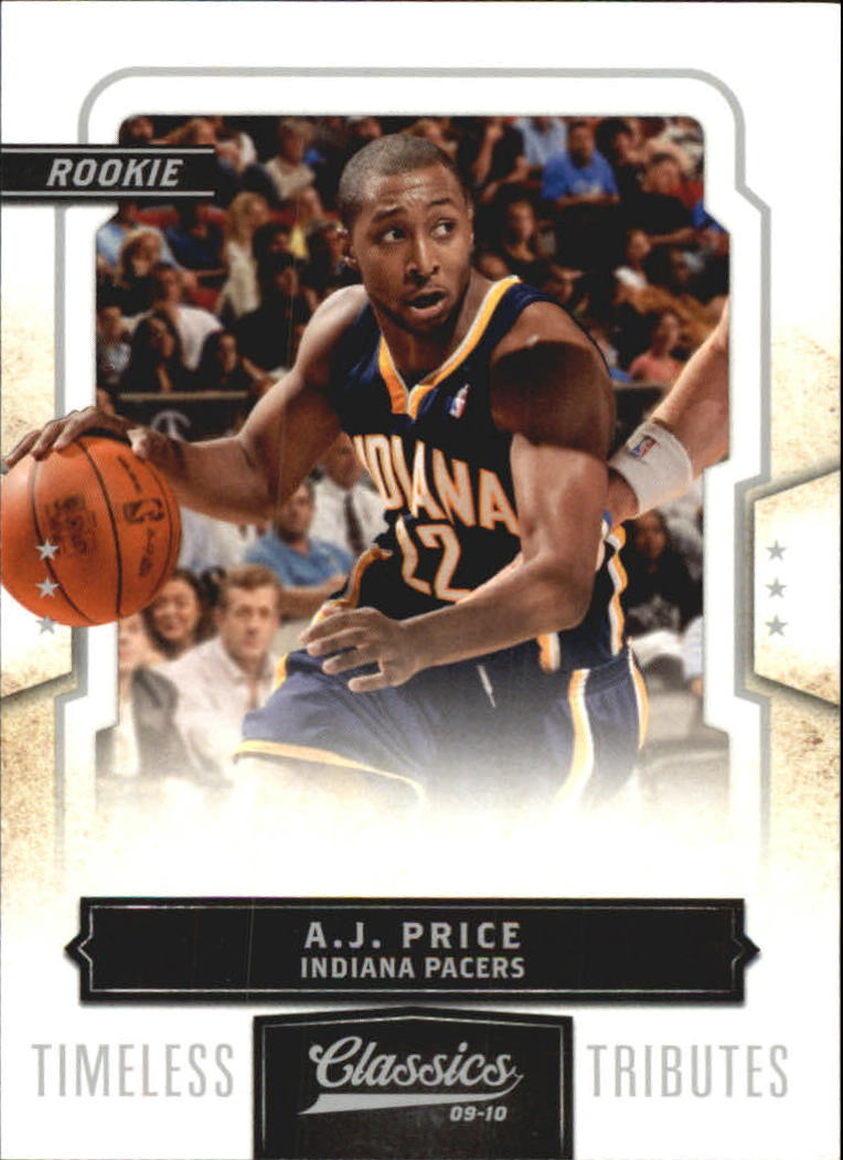 2009-10 Classics Timeless Tributes Silver #189 A.J. Price