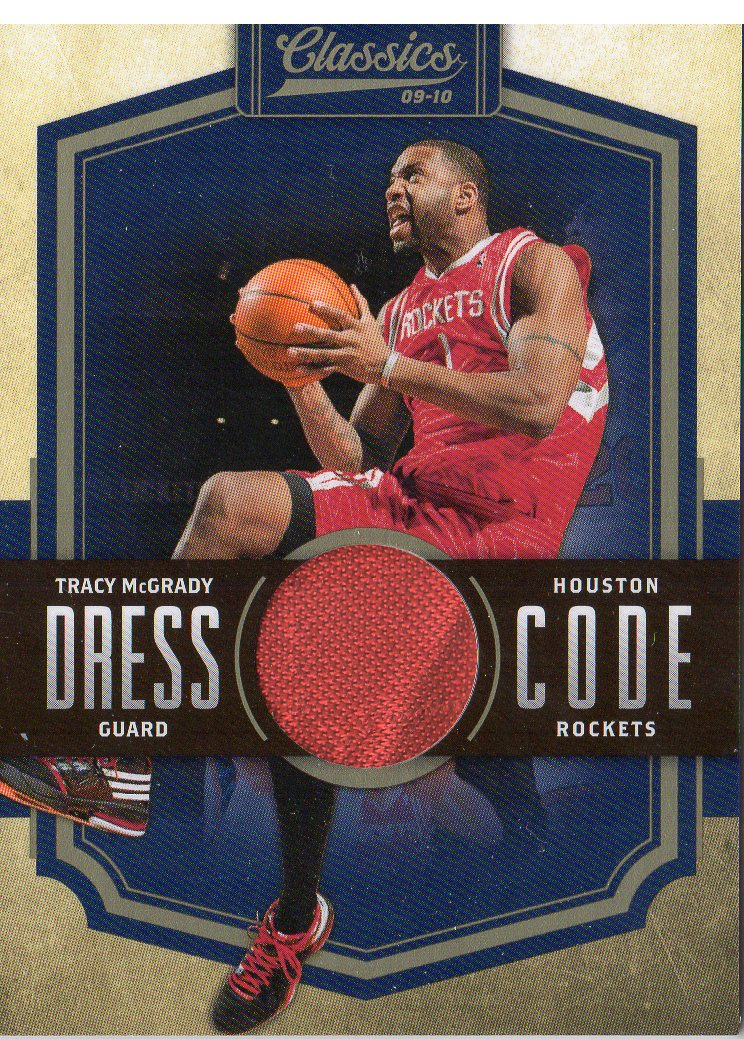 2009-10 Classics Dress Code Jerseys #5 Tracy McGrady/199