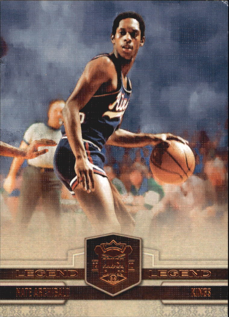 2009-10 Court Kings Bronze #102 Nate Archibald