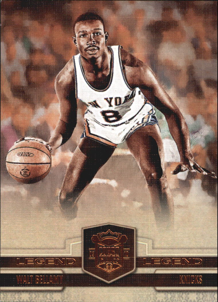 2009-10 Court Kings Bronze #104 Walt Bellamy