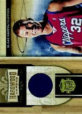 2009-10 Court Kings Hardwood Heroes Materials #20 Blake Griffin/299