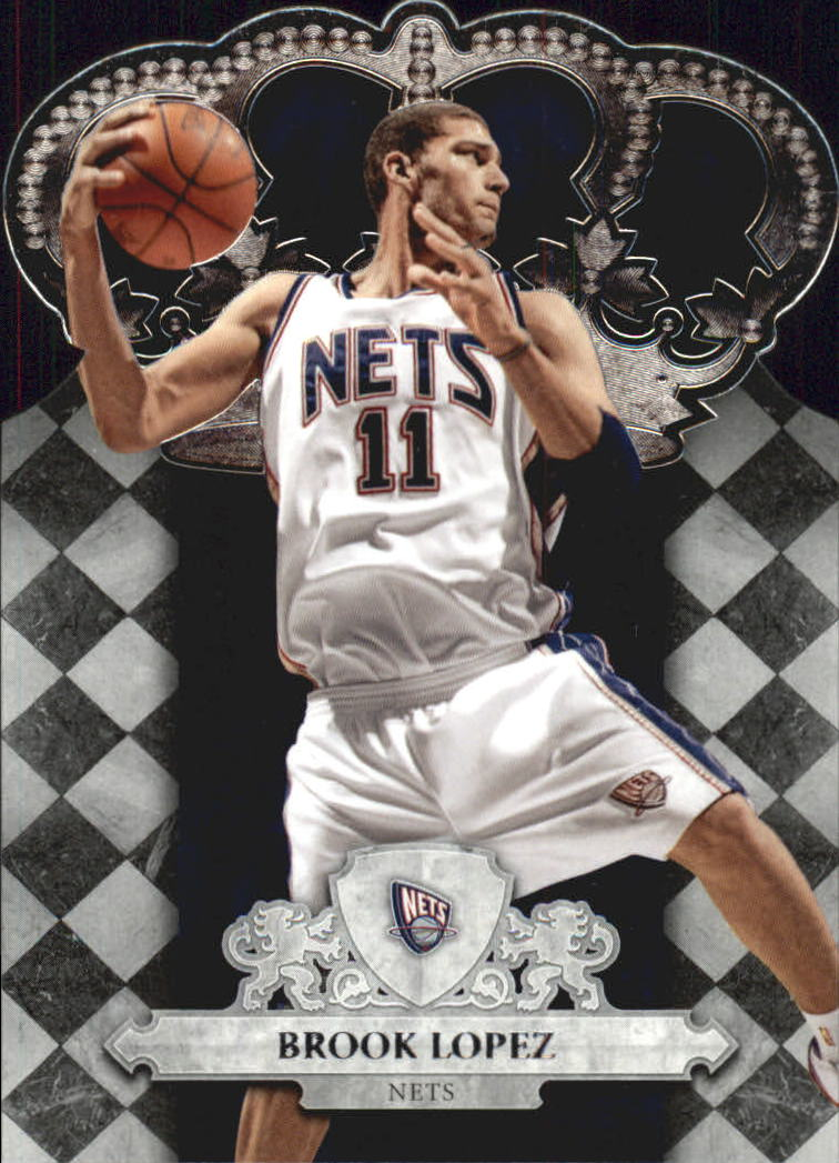 2009-10 Crown Royale #5 Brook Lopez
