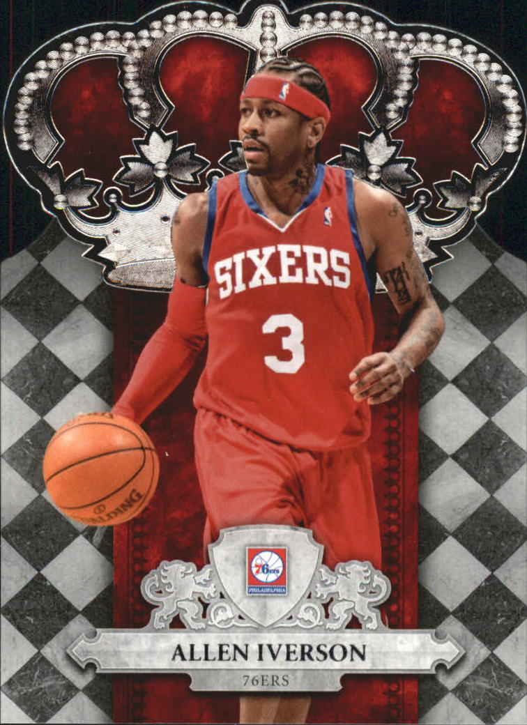 2009-10 Crown Royale #12 Allen Iverson