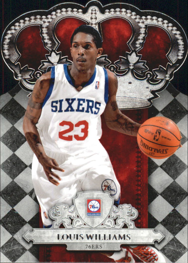 2009-10 Crown Royale #15 Louis Williams