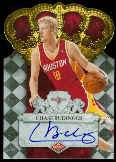 2009-10 Crown Royale #117 Chase Budinger AU/699 RC