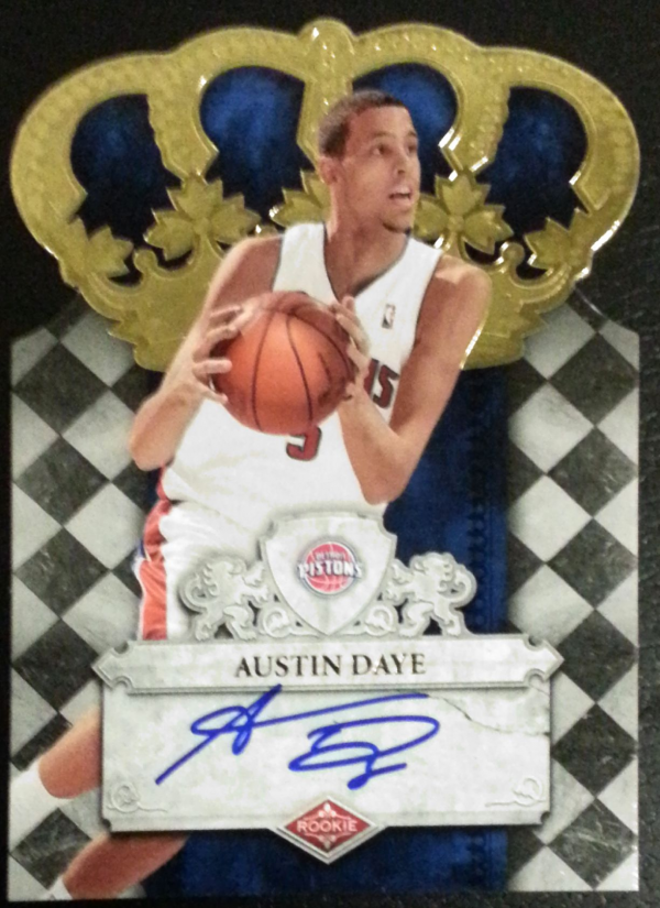 2009-10 Crown Royale #121 Austin Daye AU/599 RC