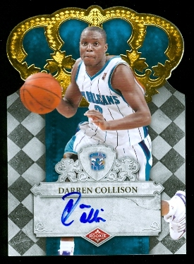 2009-10 Crown Royale #123 Darren Collison AU/599 RC