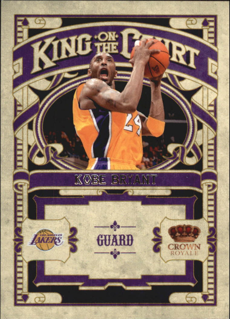 2009-10 Crown Royale King on the Court #10 Kobe Bryant
