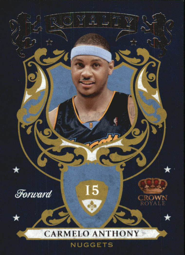 2009-10 Crown Royale Royalty #4 Carmelo Anthony