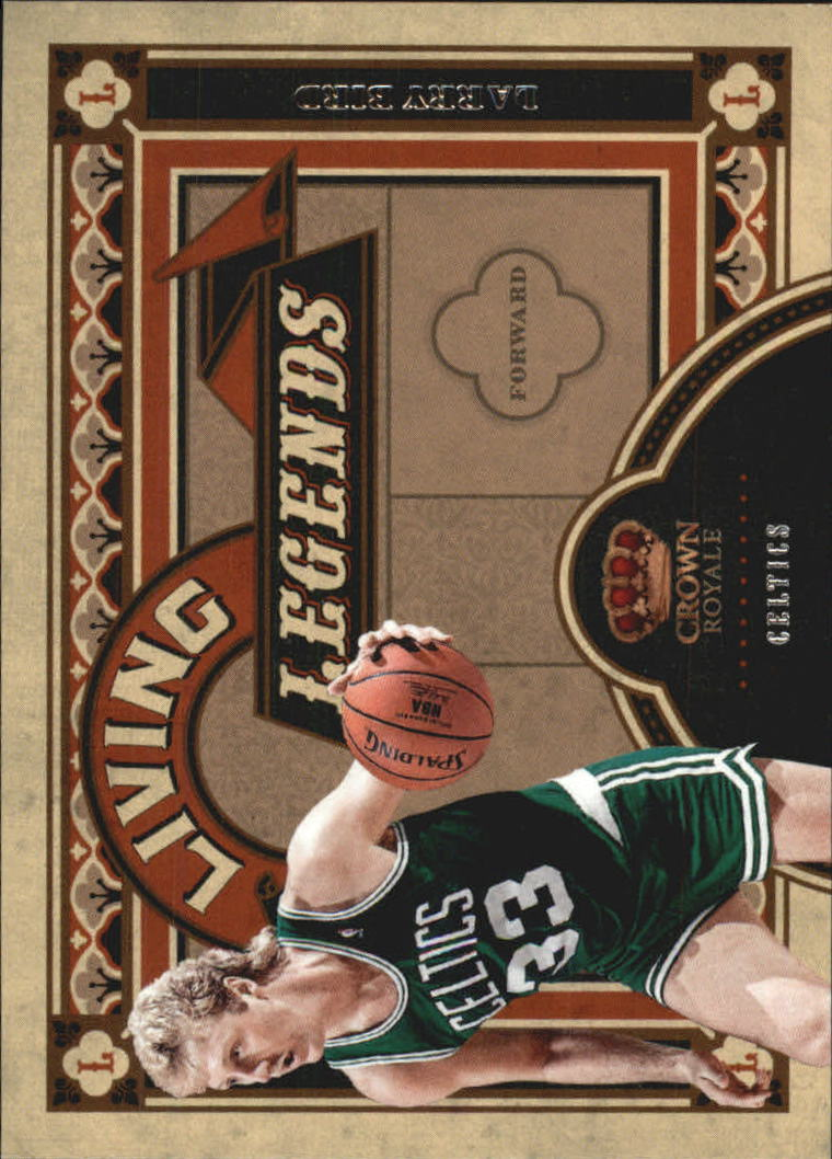 2009-10 Crown Royale Living Legends #10 Larry Bird