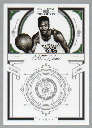 2009-10 Playoff National Treasures #127 K.C. Jones LEG