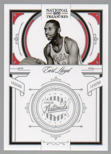 2009-10 Playoff National Treasures #166 Earl Lloyd LEG
