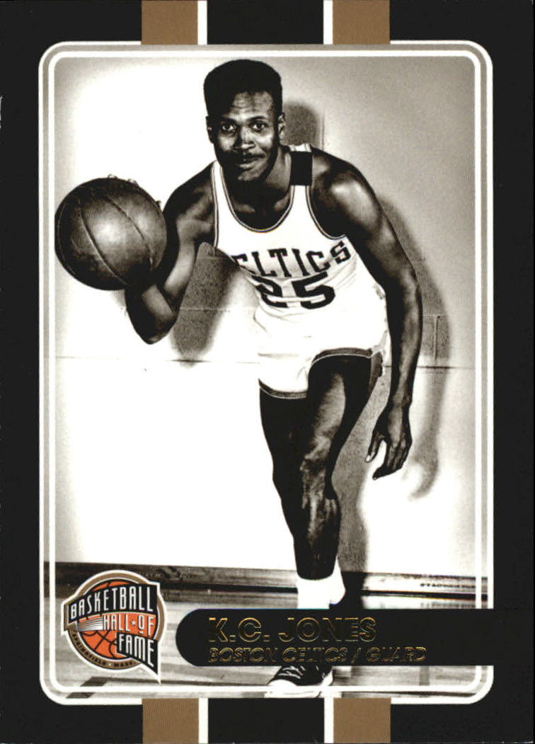 2009-10 Hall of Fame Black Border #44 K.C. Jones