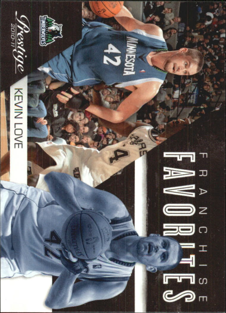 2010-11 Prestige Franchise Favorites #22 Kevin Love