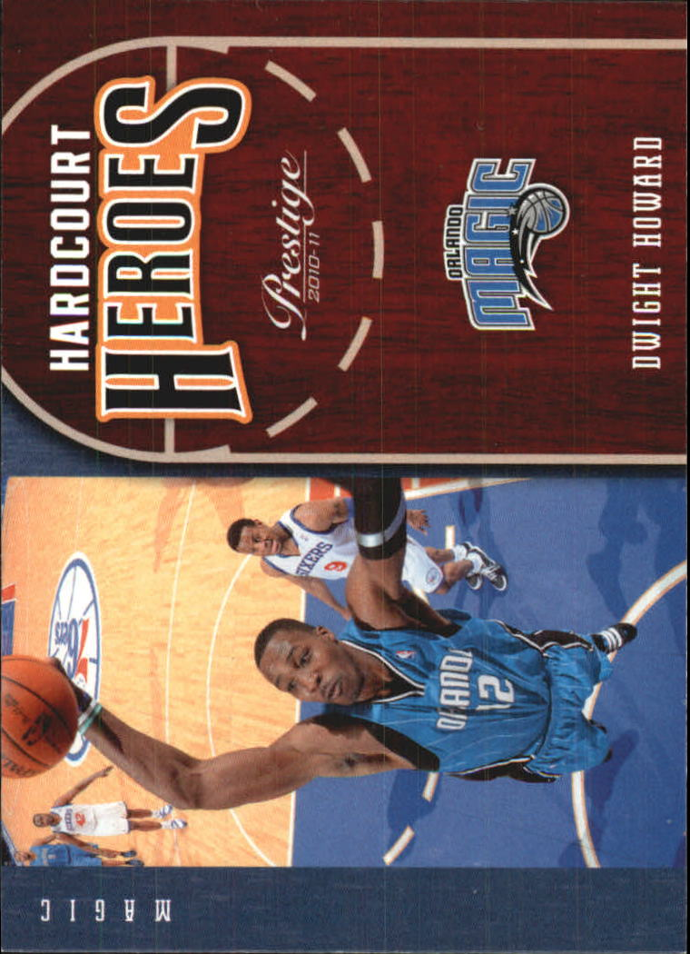 2010-11 Prestige Hardcourt Heroes #6 Dwight Howard