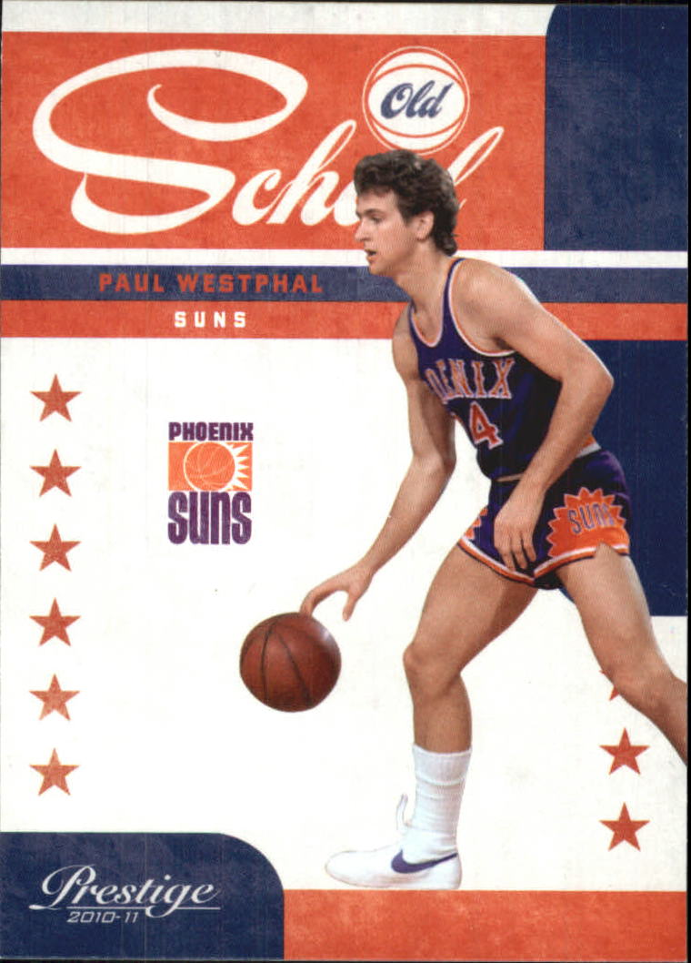 2010-11 Prestige Old School #3 Paul Westphal