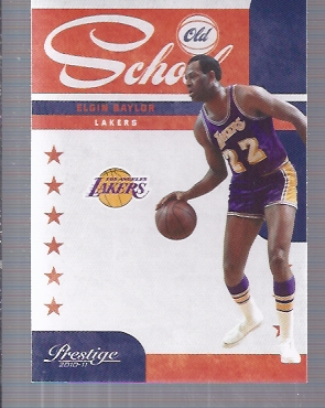 2010-11 Prestige Old School #4 Elgin Baylor