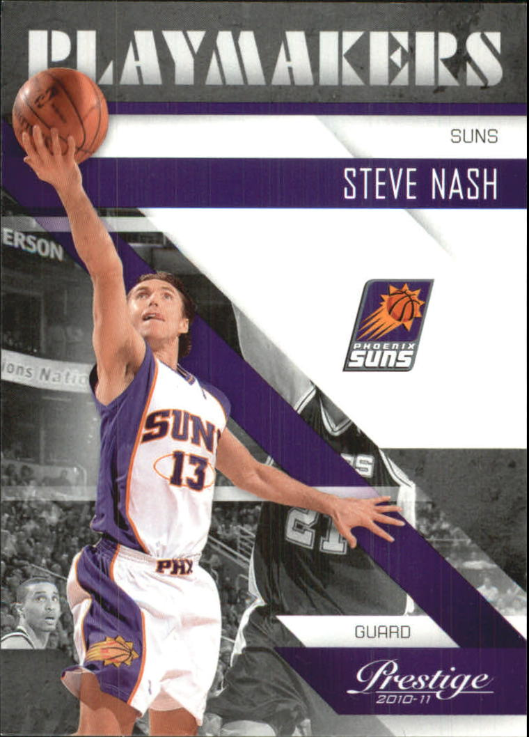 2010-11 Prestige Playmakers #1 Steve Nash