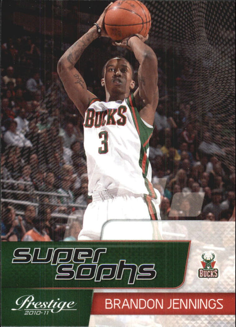 2010-11 Prestige Super Sophs #2 Brandon Jennings
