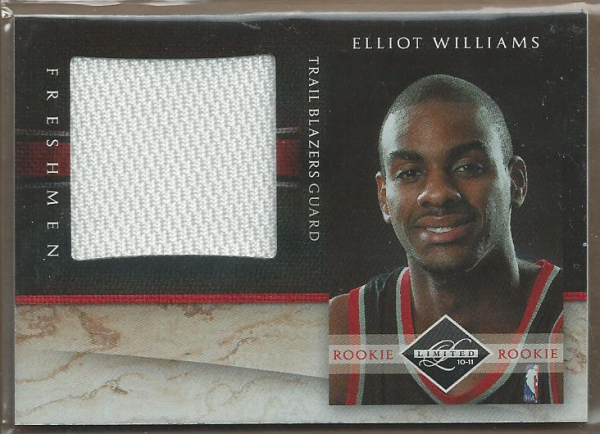 2010-11 Limited Freshmen Jumbo #22 Elliot Williams