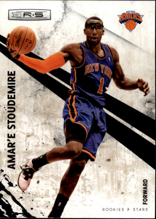 2010-11 Rookies and Stars #8 Amare Stoudemire