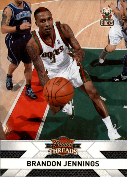 2010-11 Panini Threads #41 Brandon Jennings
